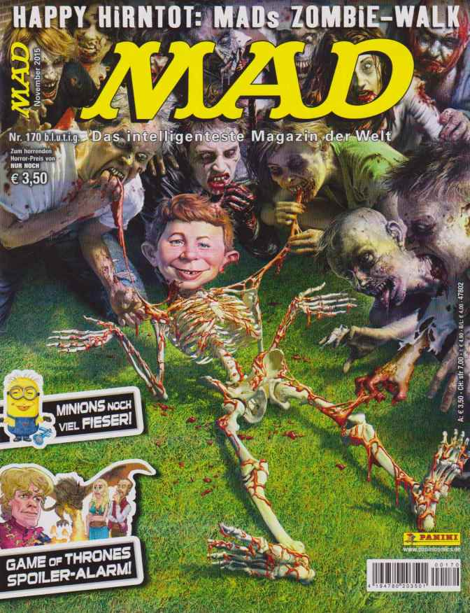 MAD, Nr. 170 –  Happy Hirntod: MADs Zombie-Walk