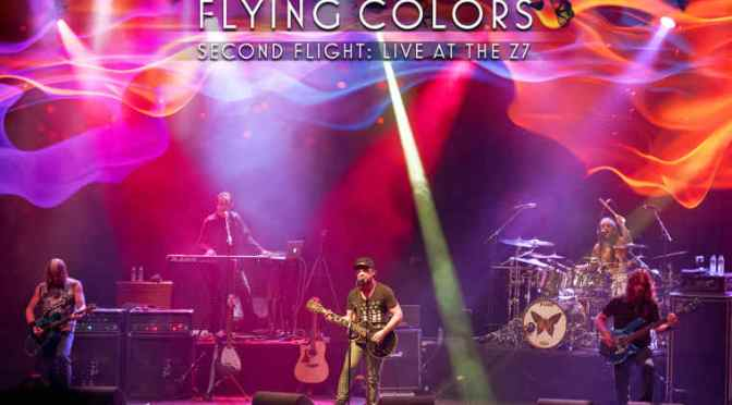 "Flying Colors: ""Second Flight: Live At The Z 7"" (2CD/ DVD)"